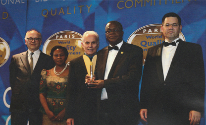 World Quality Commitment Award